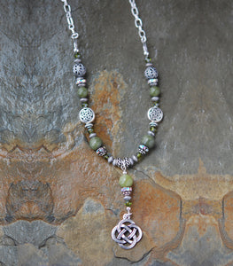 Connemara Marble Beaded Irish Necklace