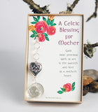 Celtic Heart Crystal Suncatcher