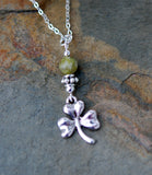 Connemara Marble with Irish Shamrock