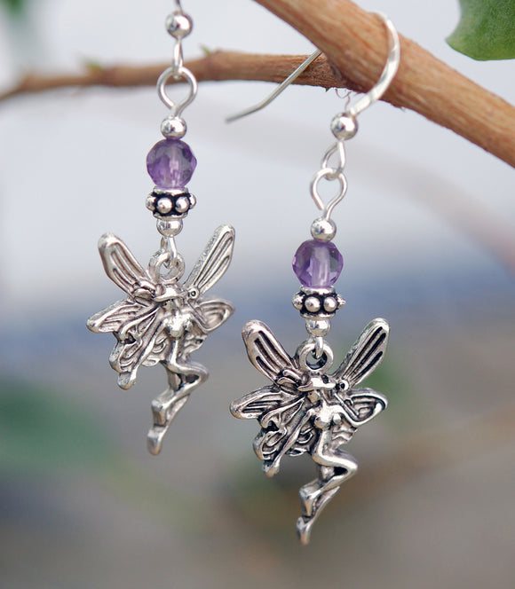 Celtic Fairy with Amethyst