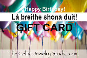 """Happy Birthday"" Gift Card"