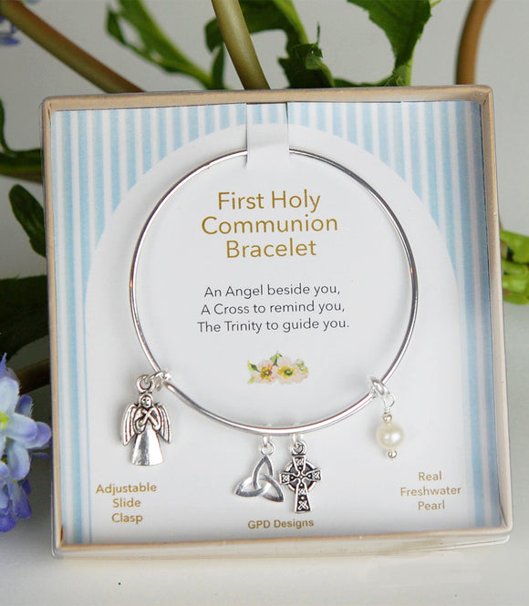Girl's First Holy Communion Blessings Bracelet