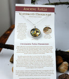 Ancient Kells Manuscript Double-sided Pendant
