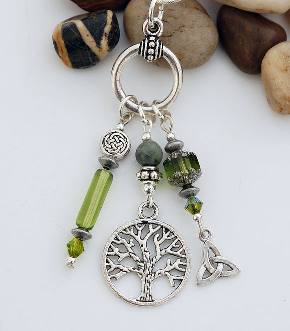 Celtic Legend of the Tree of Life Pendant