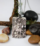 Stainless Steel St. Michael the Guardian Pendant