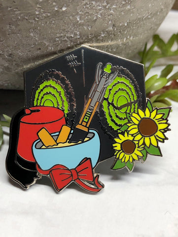 """Eleventh Doctor"" Enamel Pin"