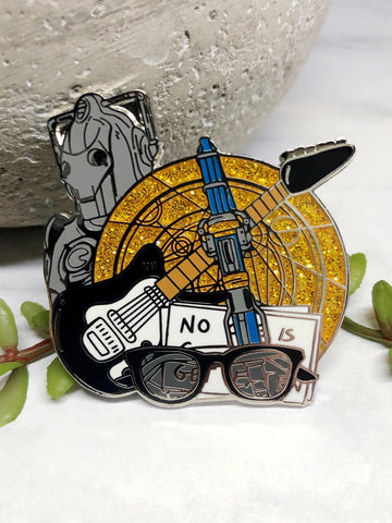 """Twelfth Doctor"" Enamel Pin"