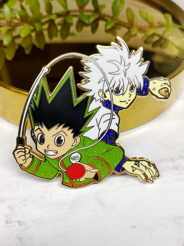"""Gon x Killua"" Enamel Pin"