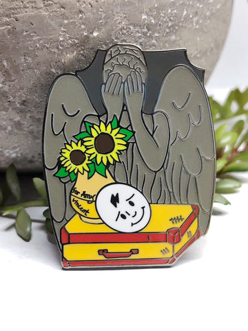 """Girl Who Waited"" Enamel Pin"