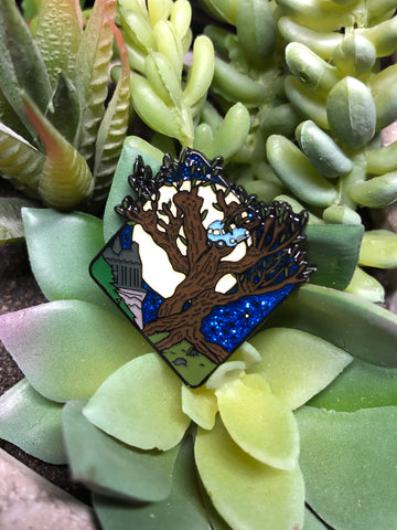 """Whomping Willow"" Enamel Pin"