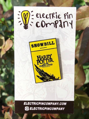"""Showbill"" Enamel Pin"