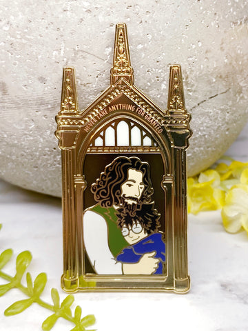 "B-Grade Sirius x Harry ""Mirror"" Charity Pin"