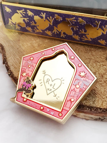 "Limited Edition ""Wizard Valentine"" Enamel Pin"