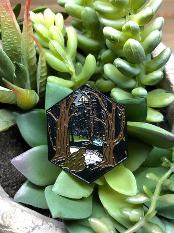 """Forbidden Forest"" Enamel Pin"