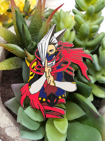 """Edgeshot"" Enamel Pin"