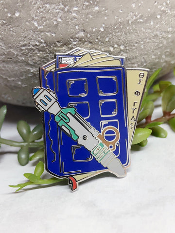 """River Song's Notebook"" Enamel Pin"