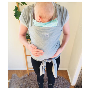 Hands Free Motherhood with a Baby Wrap Carrier