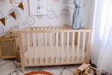 Oatmeal Fitted Organic Cot Sheet