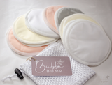 Organic Bamboo Reusable Breast Pads (7 pairs)
