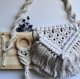 Natural Macrame Teether