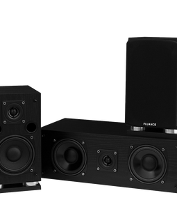 Fluance Sxhtb Bk High Definition Surround Sound Home Theater 5.0
