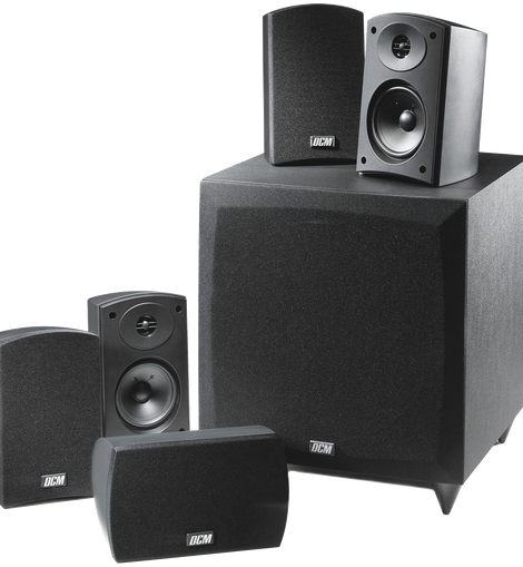 Mtx Dcm Cinema1 5.1 Channel Home Theater Speaker System