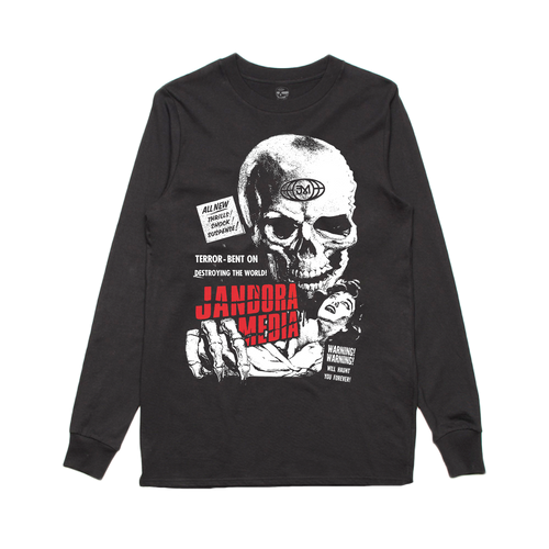 TERROR LONG SLEEVE - BLACK