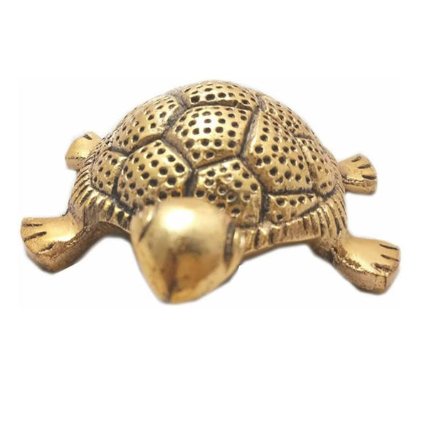 Tortoise on Plate for Good Luck (Feng Shui, Vaastu  Kachhua Plate)   Home Decor