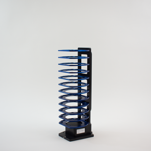 Hotel Rack, 12 Capacity, Side Grip: Universal