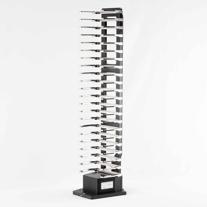 Hotel Rack, 22 Capacity, Side Grip: Landscape