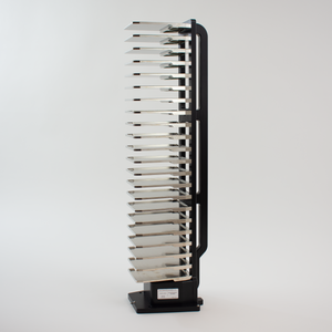 Hotel Rack, 22 Capacity, Side Grip: Portrait