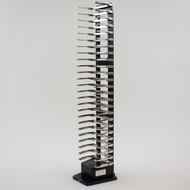 Hotel Rack, 25 Capacity, Side Grip: Landscape