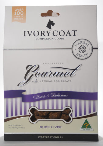 Ivory Coat Duck Liver Treats