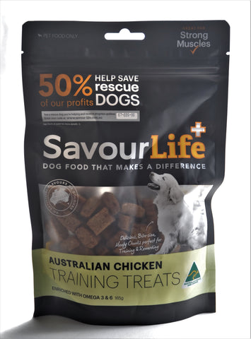 SavourLife Chicken Training Treats
