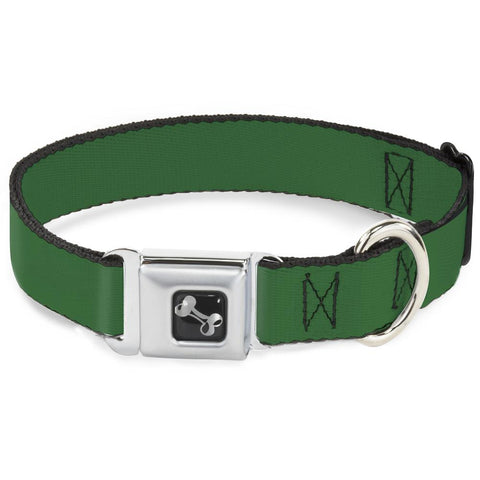"Buckle Down- Dog Collar- MEDIUM 11"" - 17"""