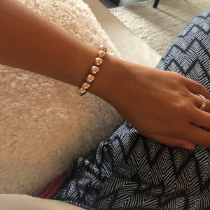 XL Gold Filled Ball Bracelet