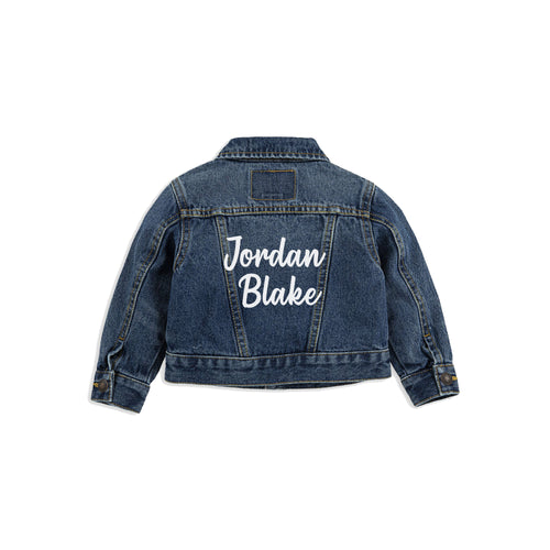 Lettered Levi's Jacket [Baby/Toddler]