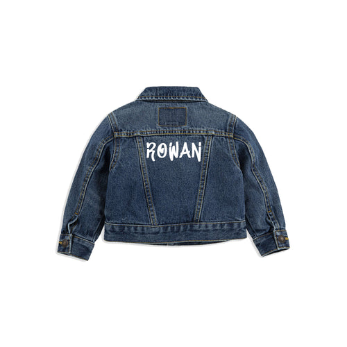 Graffiti Levi's Jacket [Baby/Toddler]
