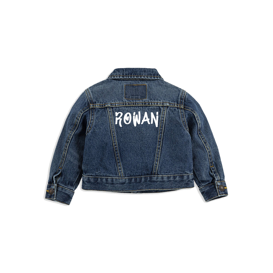 Graffiti Levi's Jacket - Baby & Toddler