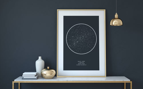 ON SALE! Custom Star Map - Weddings, Anniversaries, New Baby, Birthdays