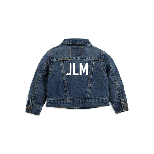 Monogram Levi's Jacket [Baby/Toddler]