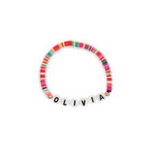 Load image into Gallery viewer, Custom Rainbow Name Bracelet