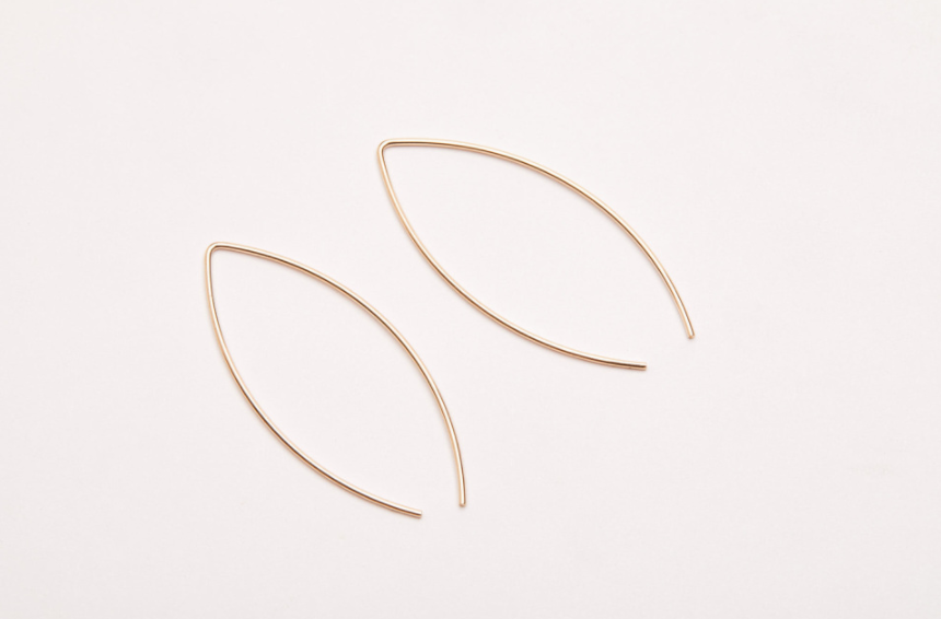 Arc Jacket Earrings