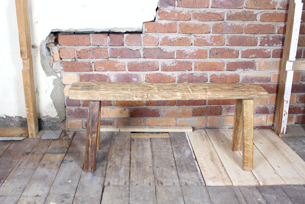 Donford Rustic Wooden Bench Seat
