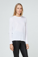Elka Collective EC Linen LS Tee 2.0 (White)