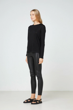 Elka Collective EC Linen LS Tee 2.0 (Black)