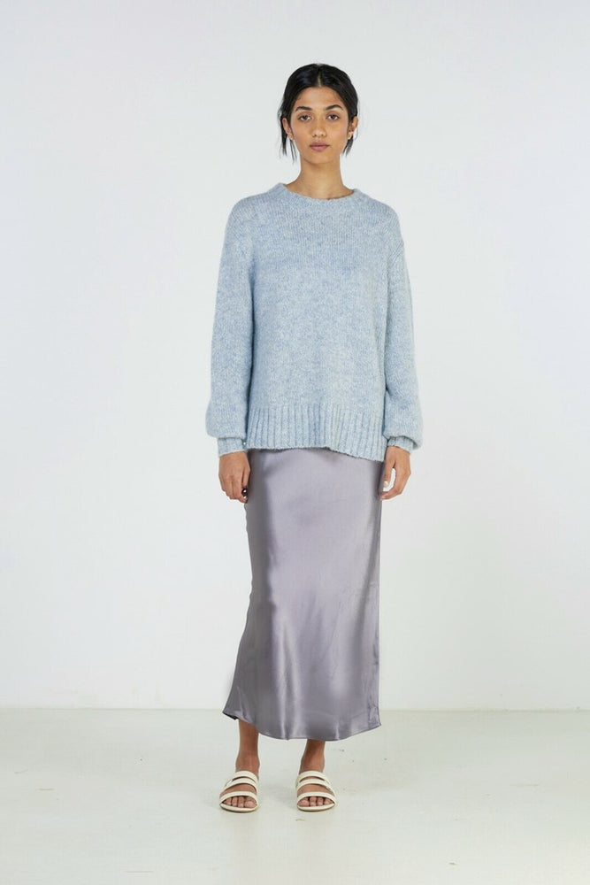 Elka Collective Blue Marle Knit