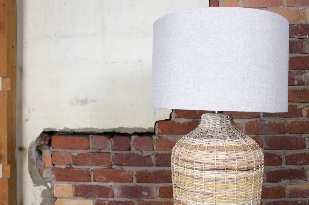 Florence Rattan Table Lamp