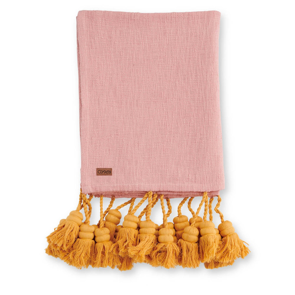 Kip & Co Pina Colada Tassel Throw