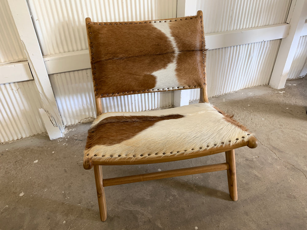 Marlboro hide occasional chair